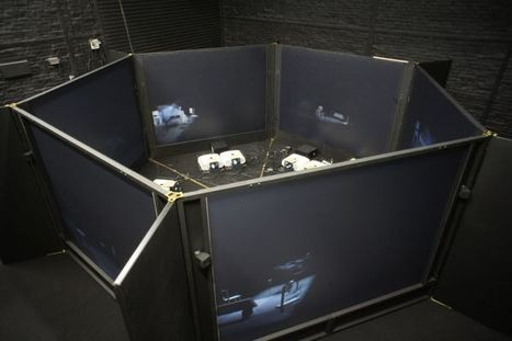 ReACTOR, a six-screen,3D projection system designed by Sarah Kenderdine and Jeffrey Shaw | Art You Need | Scoop.it