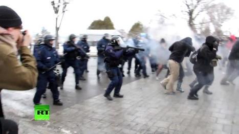 В Канаде продолжаются студенческие акции протеста против сокращения бюджета   Global politics   Scoop.it
