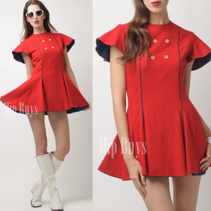SPACE AGE mini Dress | Antiques & Vintage Collectibles | Scoop.it
