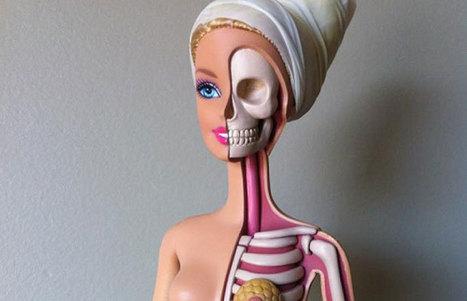 Dissected Barbie Art Prints | Barbie's Body: Art, Fashion & Jewellery | Scoop.it