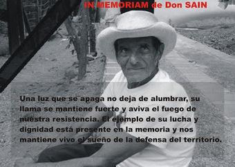 Resistir con Dignidad: Don Sain Ejemplo de vida, resistencia y dignidad | ASOQUIMBO | Minería y despojo :: Colombia | Scoop.it