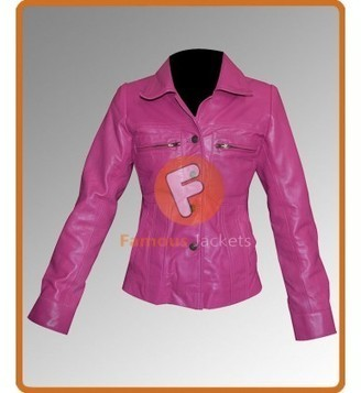 Percy Jackson: Sea of Monsters Alexandra Daddario (Annabeth Chase) Pink Jacket | Movie Jacket | Scoop.it