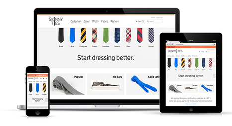 10 Awesome Examples of Ecommerce Sites Using Responsive Web Design | EC trends | Scoop.it