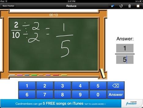 Basic Fractions Skills | Educational Technology - Yeshiva Edition | Scoop.it