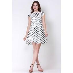 The Monochrome Love Swing Dress   Online shopping for women   Scoop.it