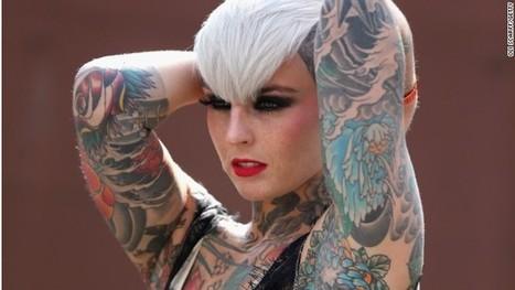 Retro travel themes rule at London tattoo show - CNN International | Tattooed | Scoop.it