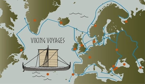 Where the Vikings voyaged – interactive map | ClioTweets | Scoop.it