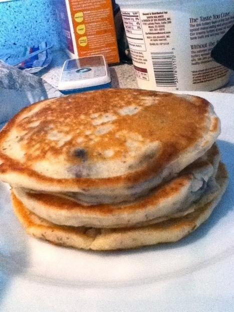 Vegan Banana Blueberry Pancakes Recipe - Go Dairy Free | My Vegan recipes | Scoop.it