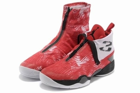 Air Jordan 28 Black Varsity Red White new | Jordan 28 for sale | Scoop.it