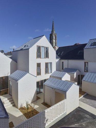 Equerre d'argent : Tact architectes, six logements locatifs en coeur de village / AMC | CLICS de DOC ... les actualités Architecture Urbanisme Environnement du CAUE 67 | Scoop.it