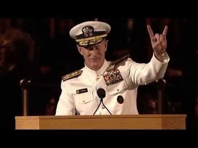 University of Texas at Austin 2014 Commencement Address - Admiral William H. McRaven | My favorite videos | Scoop.it