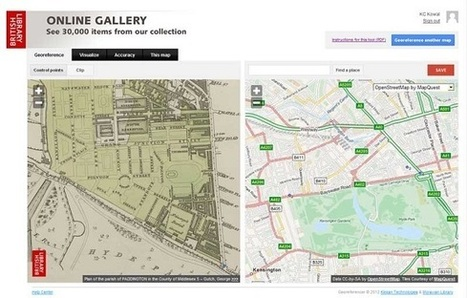 New lot of maps for georeferencing - British Library | Scoops GGE | Scoop.it
