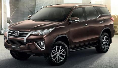 New Toyota Fortuner to launch in India on November 7 | Maxabout Cars | Scoop.it