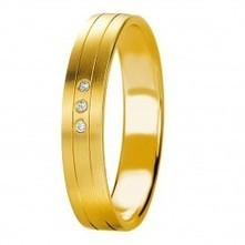 18K - WEDDING BAND - diamond fc 0,017 Ct. w/si - Price Range: US$407.00   Wedding Band Collection Dubai   Scoop.it