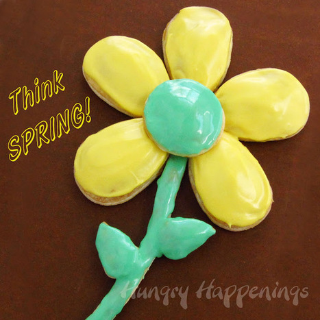 Hungry Happenings: Daisy Pastries - perfect for Mother's Day, a bridal shower, or spring. | Candy Buffet Weddings, Events, Food Station Buffets and Tea Parties | Scoop.it