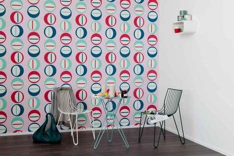 Les tendances en papier peint avec We Are Colour - Colora Blog | PAPIER PEINT | Scoop.it