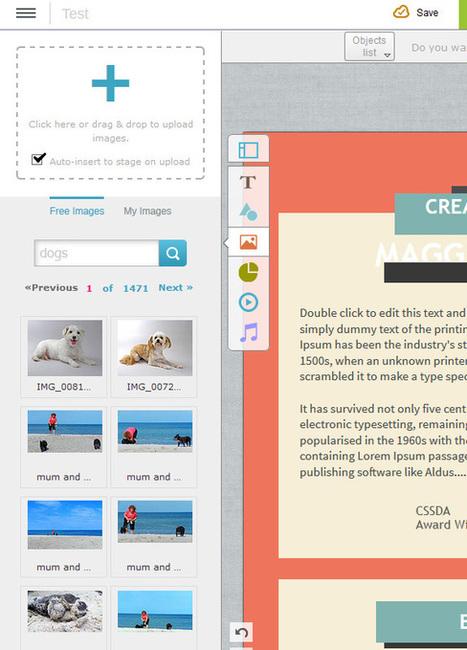 Visme, outil de création de contenu en ligne | WebdesignerTrends - Ressources utiles pour le webdesign, actus du web, sélection de sites et de tutoriels | Actualité du marketing digital | Scoop.it