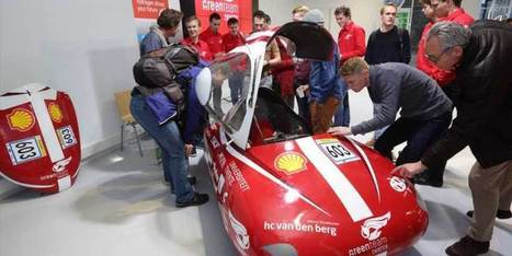 Dit is de nieuwe waterstofauto van de Universiteit Twente! | Kennisproductiviteit | Scoop.it
