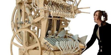Une boîte à musique géante composée de 2000 billes | Libre de faire, Faire Libre | Scoop.it