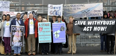 Wales News: Withybush Hospital proposal protest held on Senedd steps   The Indigenous Uprising of the British Isles   Scoop.it