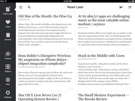 My Must-Have iPad Apps, 2011 Edition | Outils et  innovations pour mieux trouver, gérer et diffuser l'information | Scoop.it