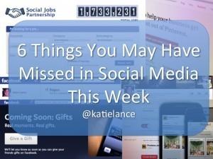 Quick tip: 6 things you may have missed in social media this week | Around Los Angeles | Scoop.it
