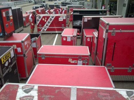 Twitter / DucatiMotor: All crated up #DucatiTeam at Sachsenring and California-bound! | Ductalk Ducati News | Scoop.it