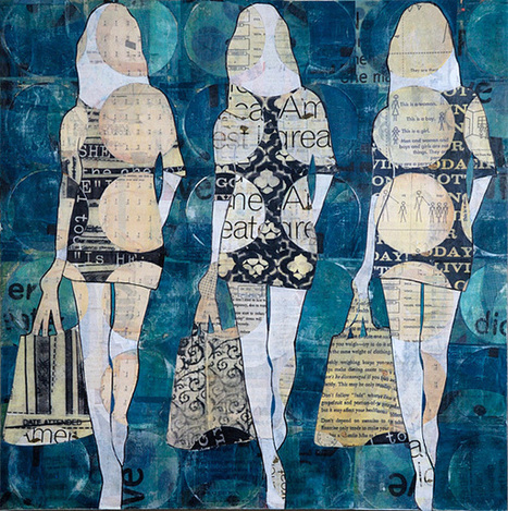 Faith is Torment | Art and Design Blog: Mixed Media by Jane Maxwell | Art | Scoop.it