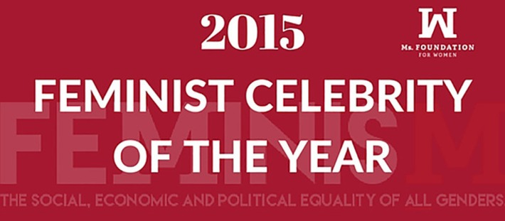 Vote now for the 2015 Feminist Celebrity of the Year | Dare To Be A Feminist | Scoop.it