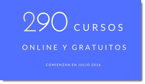 290 cursos universitarios, online y gratuitos que inician en julio | Recull diari | Scoop.it