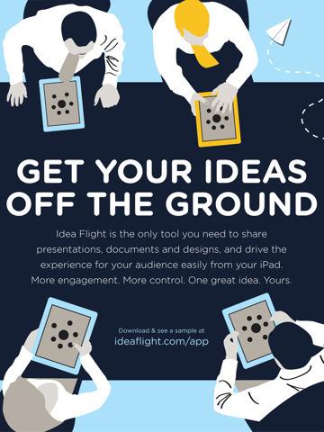 Idea Flight for iPad - share ideas, presentations, documents | Digital Presentations in Education | Scoop.it