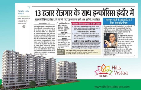 Infosys in Super Corridor Indore- Great Time to Invest in Indore Real Estate Market, | Property in Indore | Scoop.it