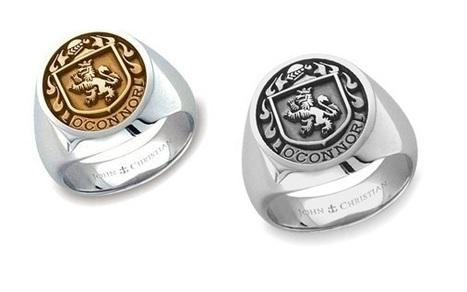 Family Crest Rings radiate power or speak of wealth | Rings of the World | Scoop.it