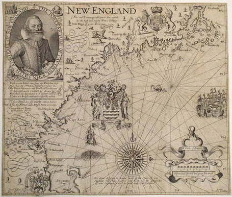 Mapping Massachusetts, 1600-1750 - ArtfixDaily (blog) | Geographic Information Technology | Scoop.it