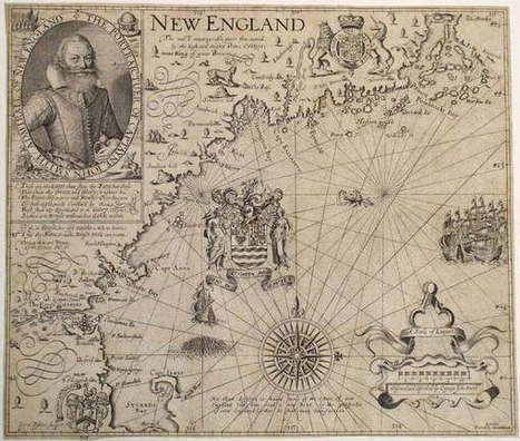 Mapping Massachusetts, 1600-1750 - ArtfixDaily (blog) | Cartography | Scoop.it