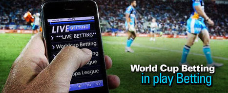 World Cup Betting - In-play betting | Bet the World Cup | News Bet The World Cup | Scoop.it