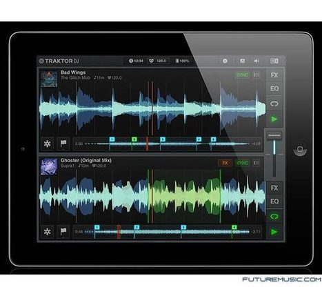 Native Instruments Releases Traktor DJ App For iPad | Technology and its Influence in the Audio Industry | Scoop.it