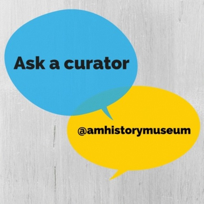 Bring your questions and curiosity to #AskACurator Day 2015 | National Museum of American History | Kiosque du monde : A la une | Scoop.it