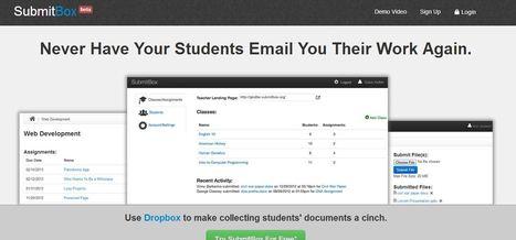 Dropbox For Teachers and Educators | SubmitBox | TEFL & Ed Tech | Scoop.it