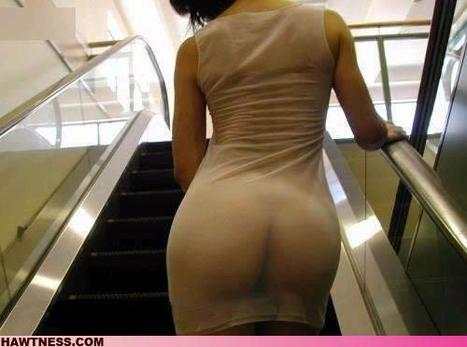 Excuse me, the Escalator Cracked! - TDW Tease | Transparent Latex | Scoop.it