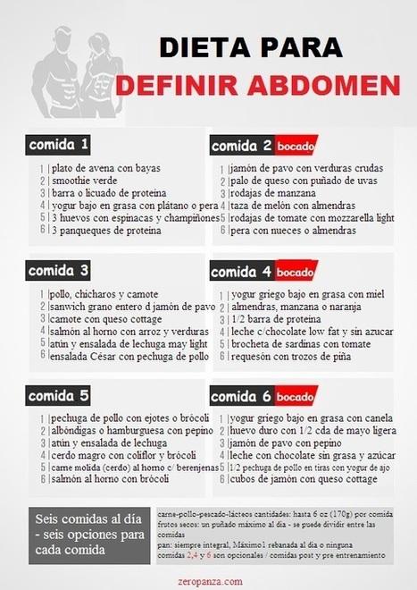 como hacer bajar la grasa del abdomen