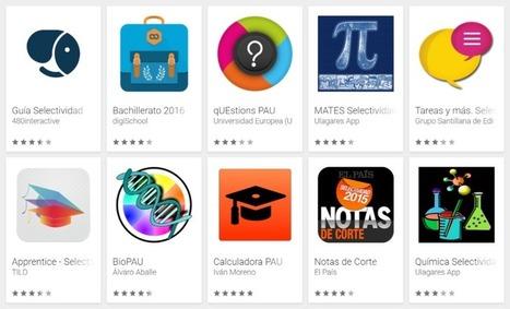 26 aplicaciones para la Selectividad 2016 | Recursos didácticos y materiales para la formación del profesorado. Servicio de Innovación y Formación del Profesorado | Scoop.it