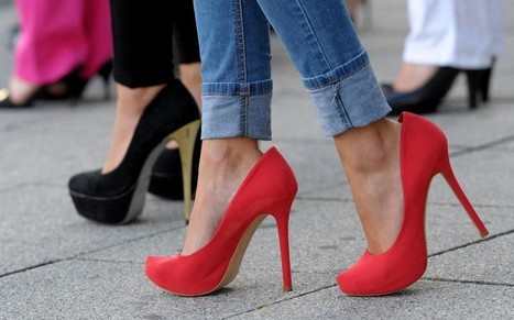 The real reason women 'choose to' hobble around in high heels - Telegraph | Soup for thought | Scoop.it
