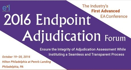 Meeting at the Endpoint Adjudication Forum - October 19-20, 2016 Philadelphia | Clinical Endpoints Adjudication News | Scoop.it