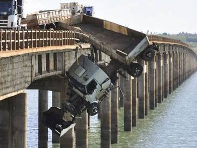Miraculous escape after truck crash | The Independent | Looks -Pictures, Images, Visual Languages | Scoop.it