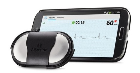 AliveCor ECG comes to Android, transmits your palpitations to Instagram - Engadget | ecg | Scoop.it