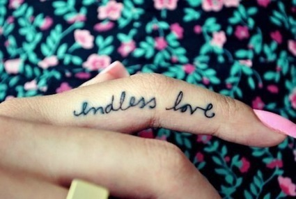 Endless Love Tattoo On Finger - Pixfav | Pixfav-Images you Love to view | Scoop.it
