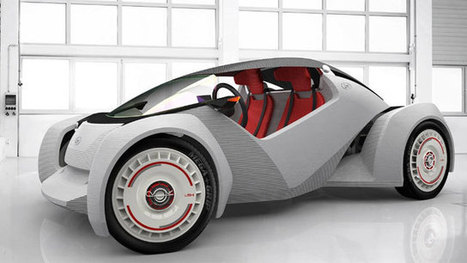 3D-printed car to debut at manufacturing show | 4D Pipeline - Visualizing reality, trends and breaking news in 3D, CAD, and mobile. | Scoop.it
