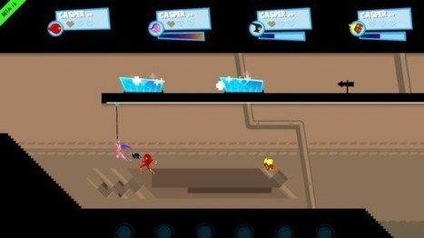 Maintaining A Feeling Of Momentum In SpeedRunners | Games & typography | Scoop.it