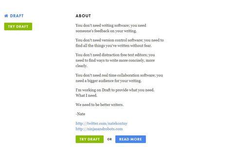 Draft: tekstverwerken zonder afleiding. Alleen maar schrijven...   Onderwijs ontwikkelingen   Scoop.it